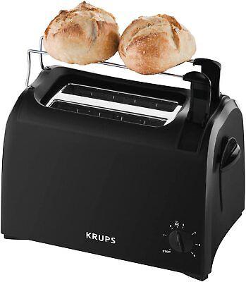 Krups KH 1518 ProAroma Tostadora 700W 6 Niveles de Accesorio Calienta Pan...