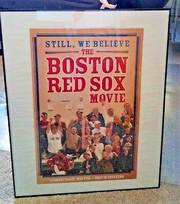 Still, We Believe – The Boston Red Sox Movie Framed Poster - PRICE LOWERED