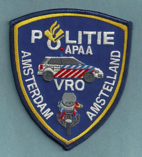 AMSTERDAM (AMSTELLAND) NETHERLANDS POLICE POLITIE SHOULDER PATCH