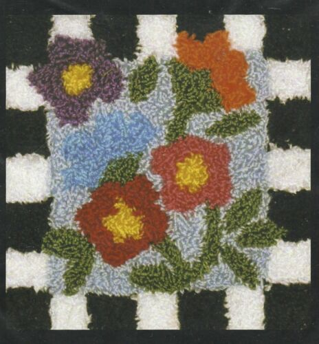 """Quilt Country """"Bouquet Punchneedle"""" Punchneedle Embroidery Pattern"""