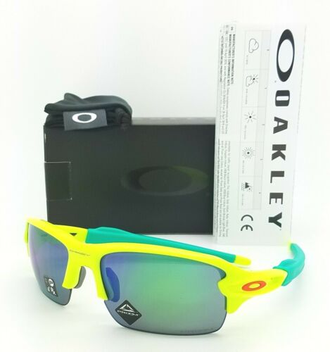 NEW Oakley Flak XS sunglasses Retina Burn Prizm Jade Iridium 9005-02 AUTHENTIC