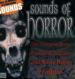 Sounds-of-Horror-Scary-Halloween-Music-Sounds-CD-New