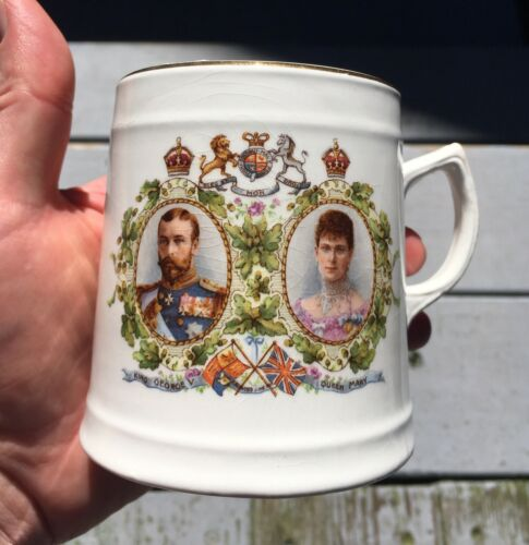 George V & Queen Mary Coronation Mug ~ June 1911