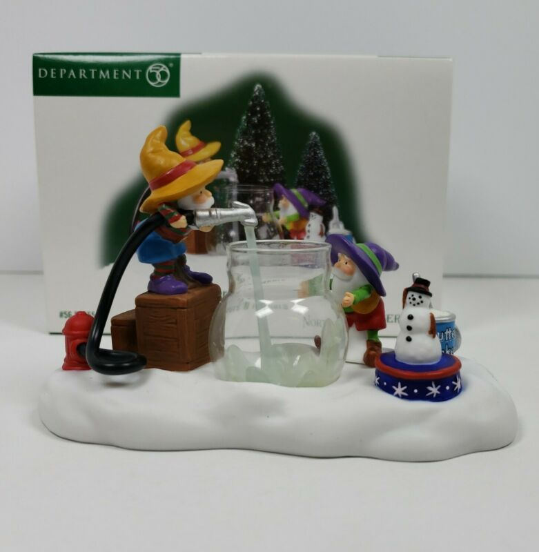 Department 56 North Pole Series Fillers & Flakers Accessory #56855
