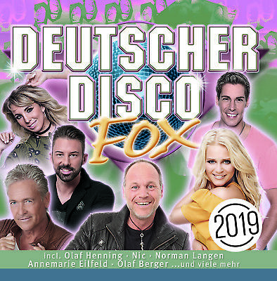 CD Deutscher Disco Fox 2019 von Various Artists