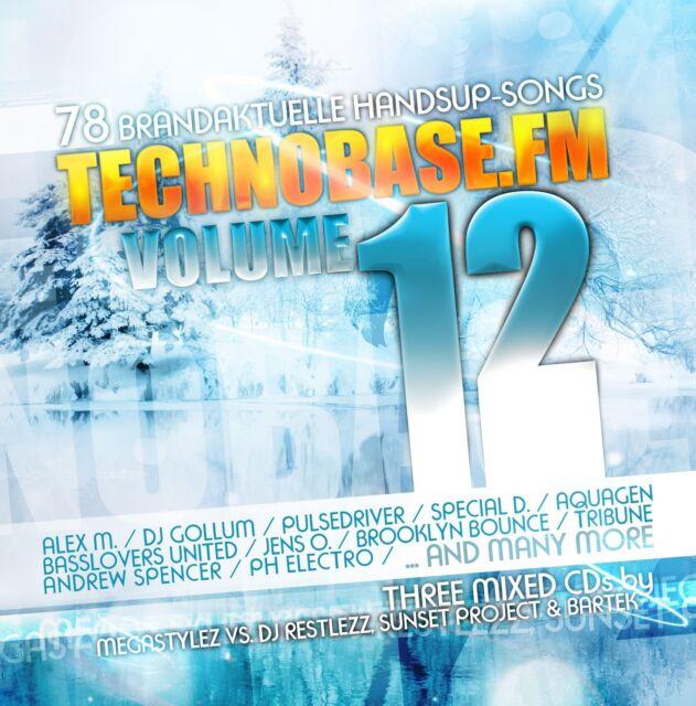 CD TechnoBase.FM 12 von Various Artists   3CDs