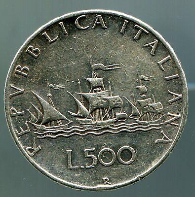 Italien - 500 Lire - 1958 / #0383