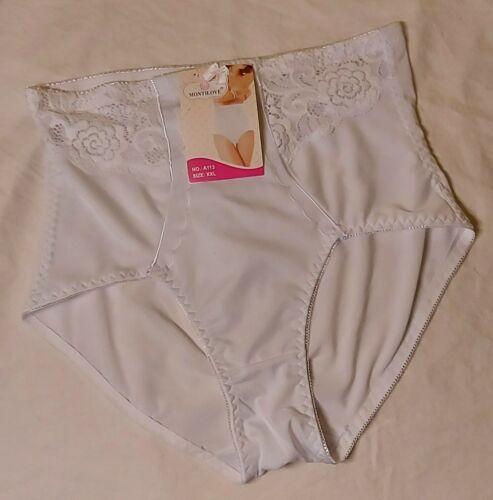 Damen Miederhose Mieder Pants Shapewear Slips Abnehmen Shaper Gr.XL XXL 3Xl weiß