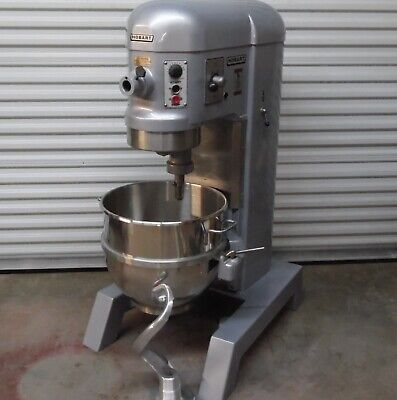 Nice Hobart 3 Phase Auto Lift H600t 60qt Refurbished Mixer