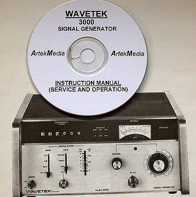 Wavetek 3000 Service Ops Manual