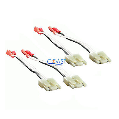 2X Speaker Connector Harness Adapter for Chevy GMC Jeep Suzuki Saturn 72-4500 -