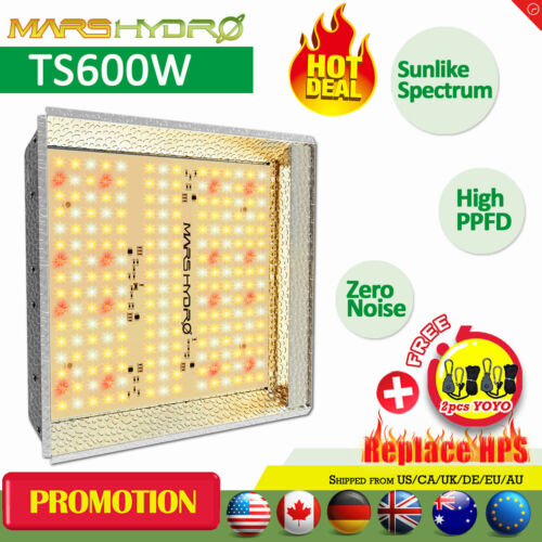 New Mars Hydro TS 600W LED Grow Lights Full Spectrum Hydroponic Indoor Veg Flower IR Mars Hydro RSD152160062 for 79.99.
