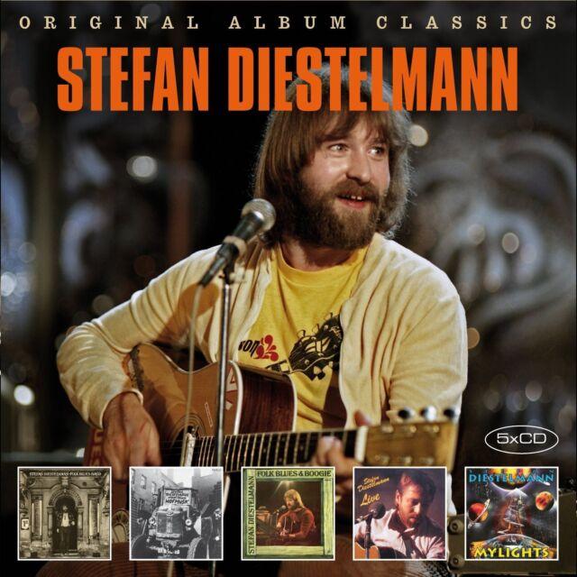 STEFAN DIESTELMANN - ORIGINAL ALBUM CLASSICS 5 CD NEU