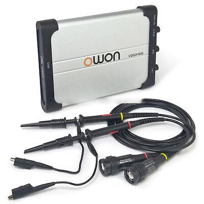 Owon Vds3102l 100mhz Lan Port Usb Pc Digital Storage Portable Oscilloscope 21ch