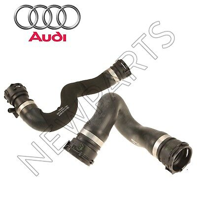 For Audi A4 & A5 Quattro S4 S5 Pair Set of Upper & Lower Radiator Hose