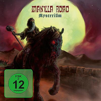 DVD CD Manilla Road Mysterium  Deluxe Edition  CD und DVD Set