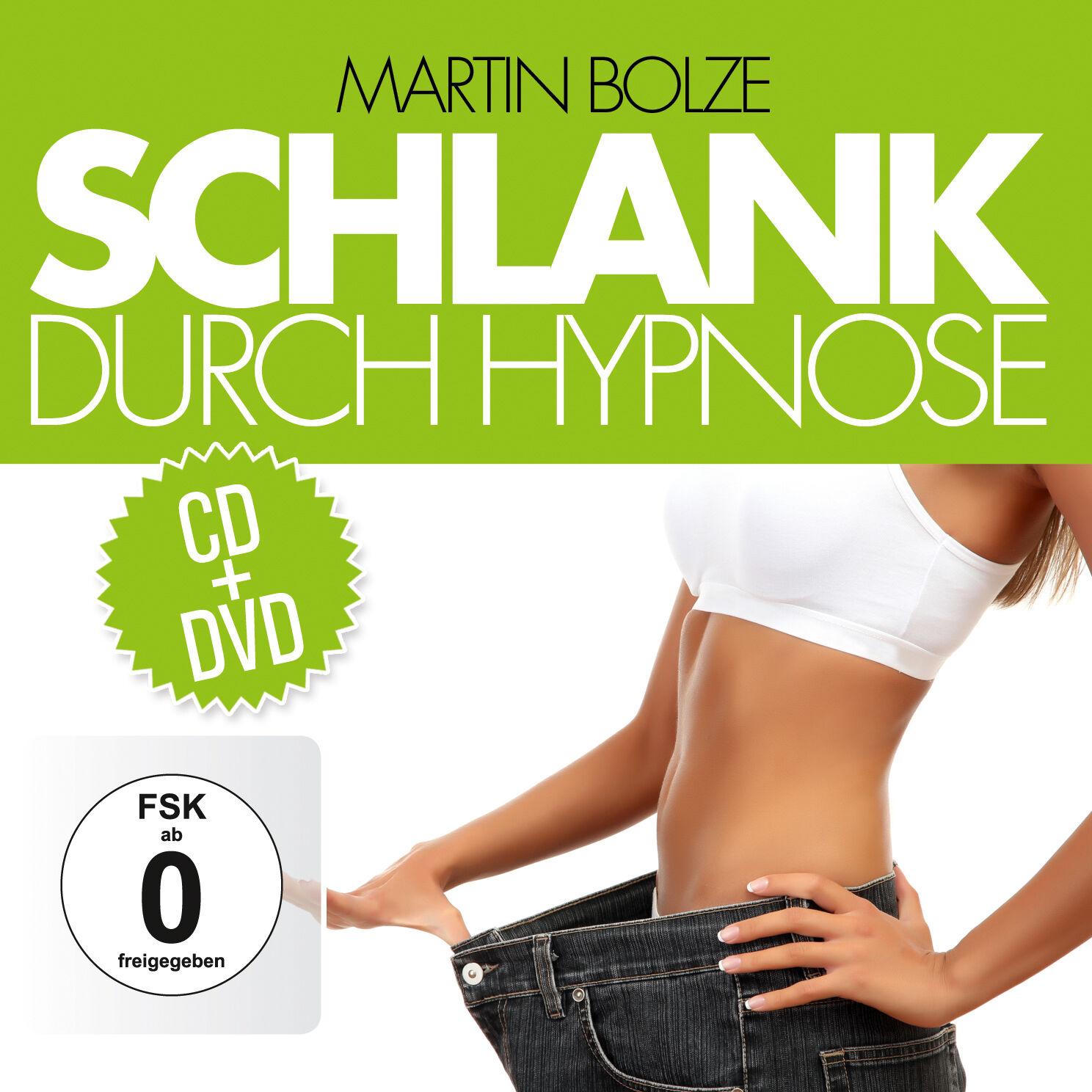 DVD CD Schlank Durch Hypnose DVD und CD Set zum erfolgreichen Abnehmen