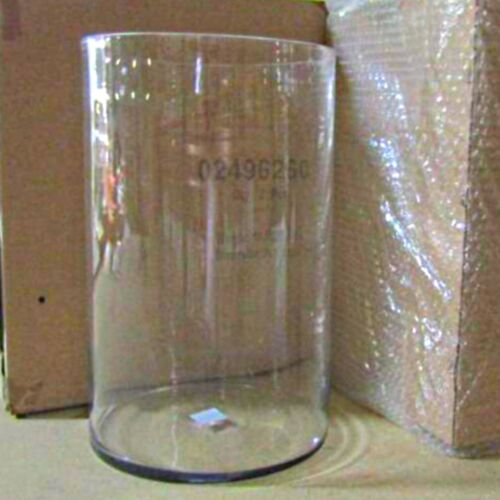"""10"""" x 16"""" Clear Glass Cylinder Vase Hand-Blown Great for Large Centerpiece"""