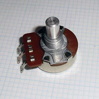 5x 5m Ohm Potentiometers 14 Watt 14 Shaft Panel Mount Linear Taper