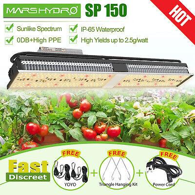 Mars Hydro SP 150  LED Grow Light Strip Full Spectrum for Indoor Plants HPS HID