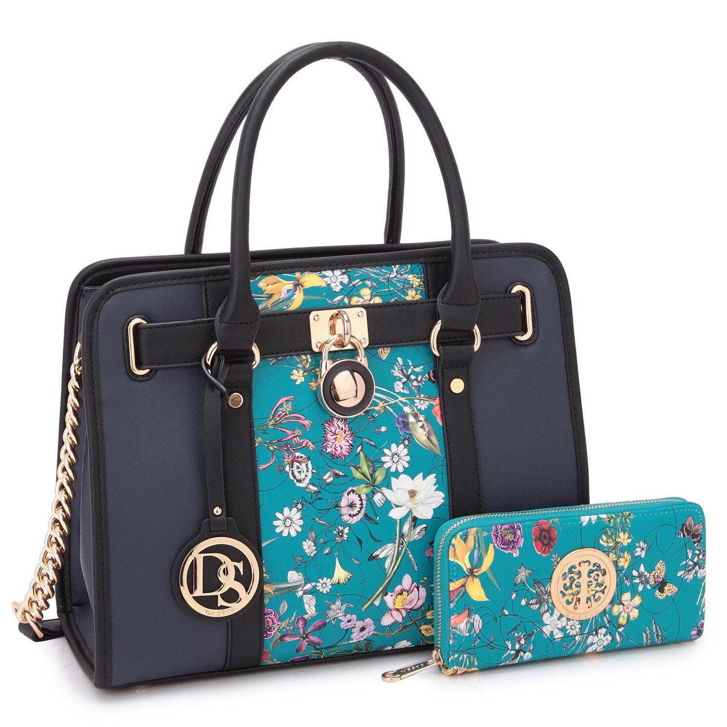 new women faux leather work satchel handbags