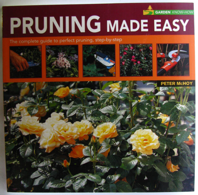 #ST6,, Peter McHoy PRUNING MADE EASY, SC GC