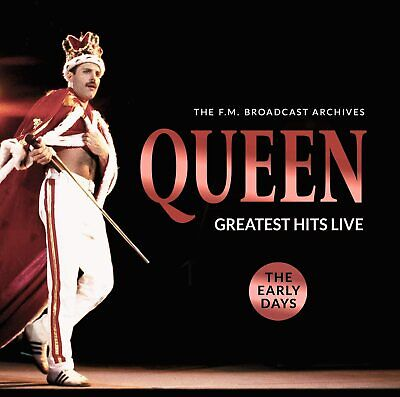 QUEEN - GREATEST HITS LIVE CD ALBUM NEW PHD (12TH JUNE)