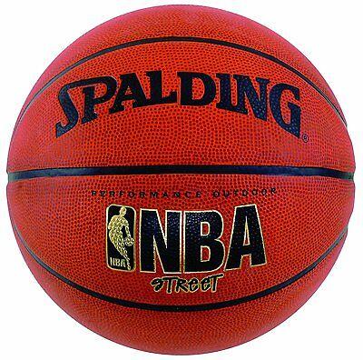 Spalding Nba Street Basketball Intermediate Size  28 5   New  Free Shipping