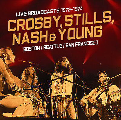 CROSBY STILLS NASH & YOUNG New Sealed 2019 LIVE 1972 -76 BEST PERFORMANCES