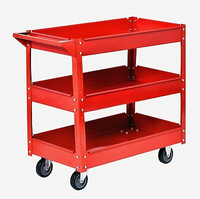 Muscle Carts Sc3216-red Teel Industrial Commercial Service Cart 220 Lb