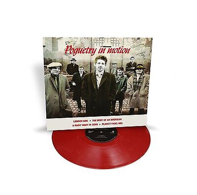 THE POGUES - POGUETRY IN MOTION  VINYL LP NEU