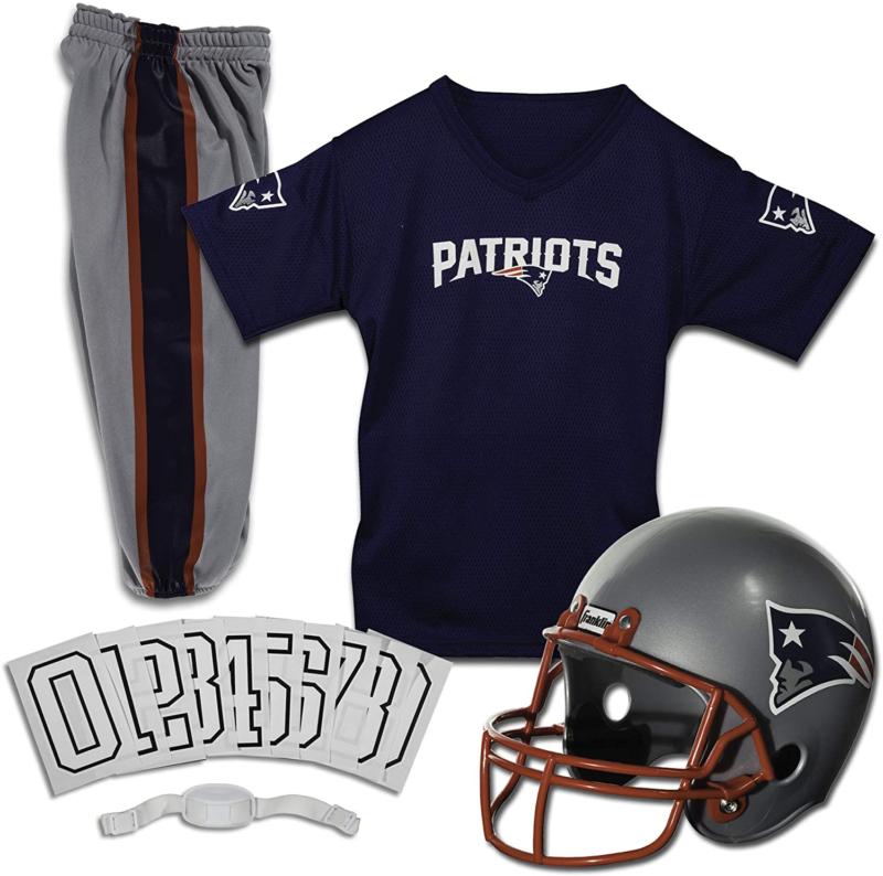 New England Patriots Uniform Set Youth NFL Football Jersey H