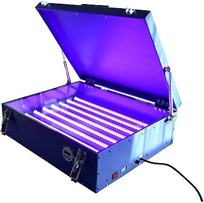 Screen Printing Exposure Unit 25 X 28 Plate Developing Machine Uv Light Box