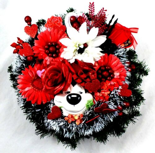 Pepe Le Pew WREATH WB SMELLING Roses Hearts Looney Tunes Warner Brothers Decor
