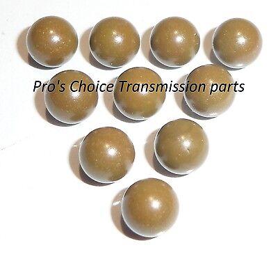 Automatic Transmission TORLON Plastic Valve Body Check Balls .250