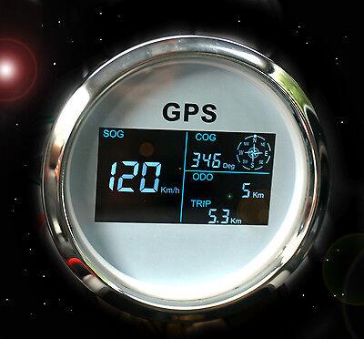 GPS Tachometer Tacho Geschwindigkeitsmesser Sumlog Digital für Boot Yacht 85mm W online kaufen