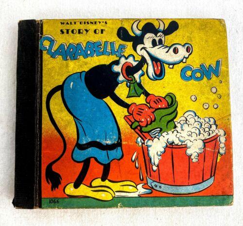 Walt Disney Story of Clarabelle Cow Whitman Children