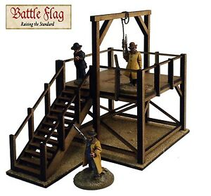 28mm-Old-West-Cowboy-Gallows-Model-Kit-from-Battle-Flag