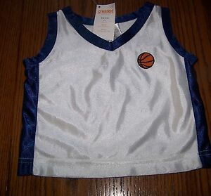 NWT-GYMBOREE-25-HOOPSTER-BASKETBALL-POLYESTER-TANK-TOP-SZ-3-6-mo-Free-Shipping