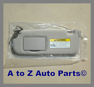 NEW & IMPROVED 2006-2008 Hyundai Sonata DRIVER SIDE Grey SUN VISOR,OEM Hyundai