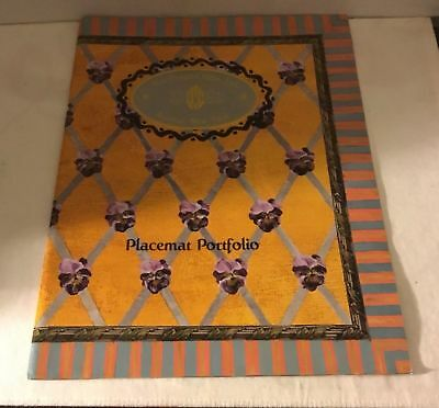 Mackenzie Childs Placemats Portfolio - Examples of Designs Rare - Store Piece (Kids Store Design)