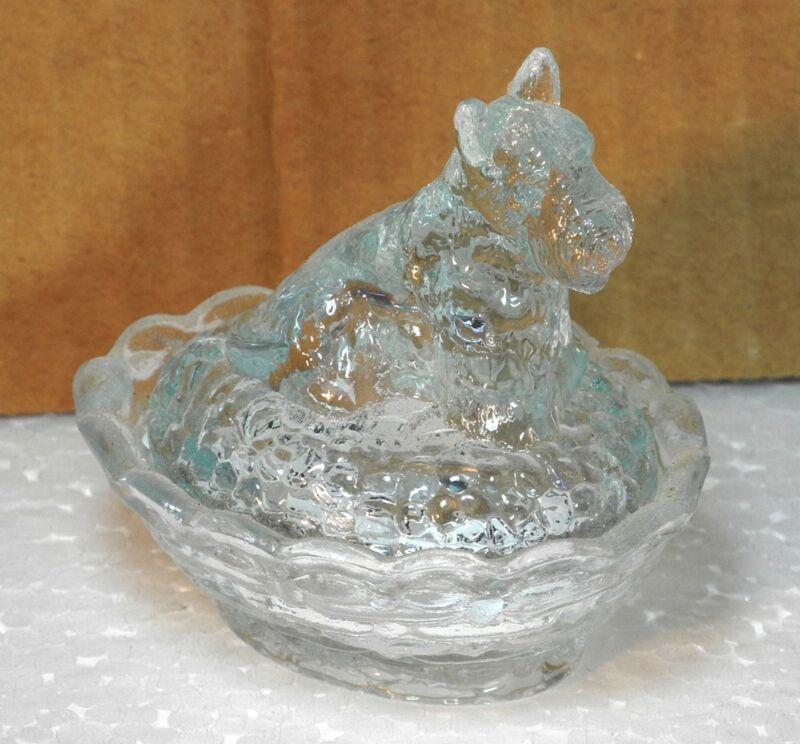 Boyd Glass Scottie Salt Crystal Valor