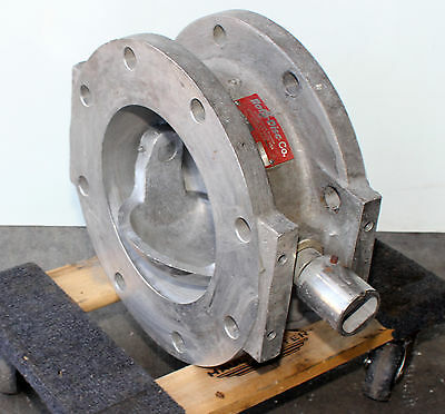"""Used- 6"""" ROTO-DISC Stainless Steel Spherical Valve"""