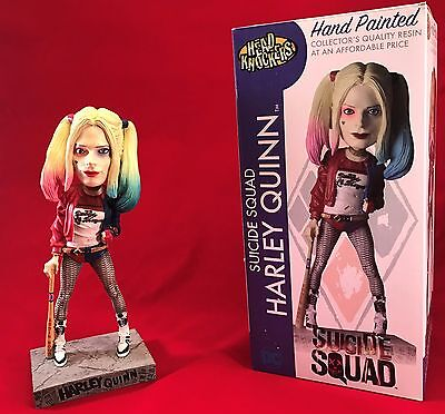 HARLEY QUINN HEAD KNOCKER NEW IN BOX Suicide Squad Movie DC