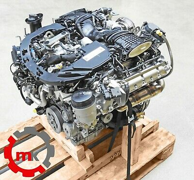 Mercedes GLE Coupe C292 OM 642826 Motor fast neu komplett Turbolader Injektoren