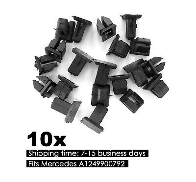 10x Innenraum Clips Halterung für Mercedes E S Klasse SL SLK W163 W230 W221