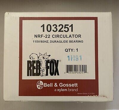 Bell Gossett 103251 Nrf-22 Cast Iron Circulator 115v Outdoor Wood Furnace Pump