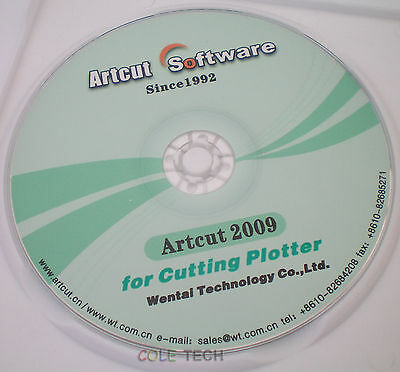 Artcut 2009 Pro Software For Sign Vinyl Plotter Cutting 9 Languages