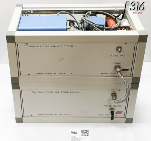 3948 FERRAN SCIENTIFIC AUTO INLET GAS ANALYSIS SYS MMSDS-12CRLP