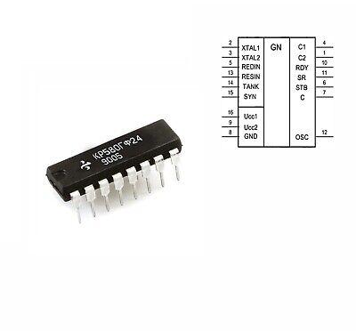 10 Pcs Clock Generator Driver Kr580gf24 Ussr Clone Of Intel P8224